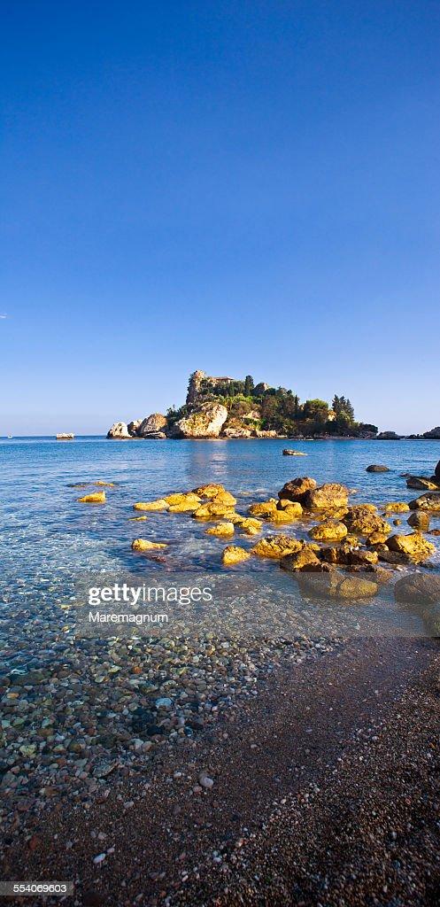 The coast and the Isola (island) Bella