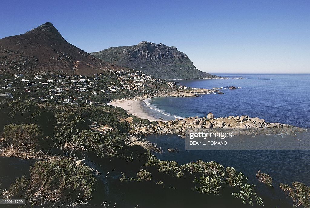 The coast between Clifton and Hout Bay Cape peninsula Western cape South Africa