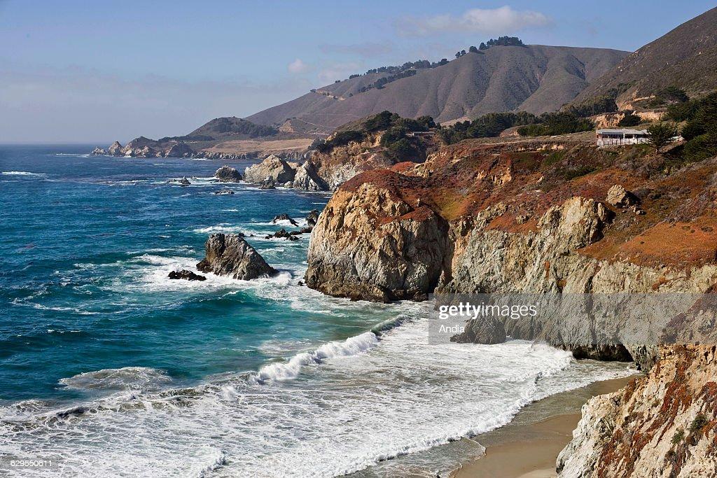 beach photography / Pacific Ocean California sea landscape  |Pacific Ocean California