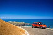 The coastal dirt road to Ruapuke Beach