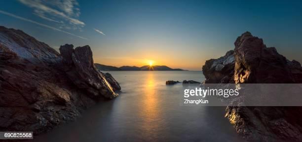 The coastal scenery
