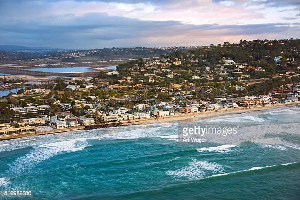The Coastline of Del Mar California - San Diego