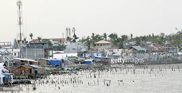The coastline of Tacloban City on May 7 still bears scars from the massive damage left by Super Typhoon Haiyan that devastated the central Philippine...