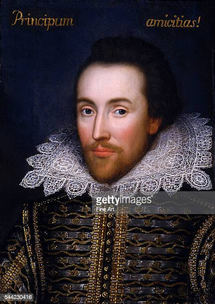 The 'Cobbe Portrait' thought to be the only portrait of William Shakespeare painted during his lifetime circa 1612 oil on panel unknown artist The...