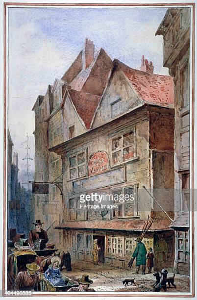 The Cock and Magpie Tavern Drury Lane Westminster London 1862 Nell Gwynne is reputed to have had lodgings in this building