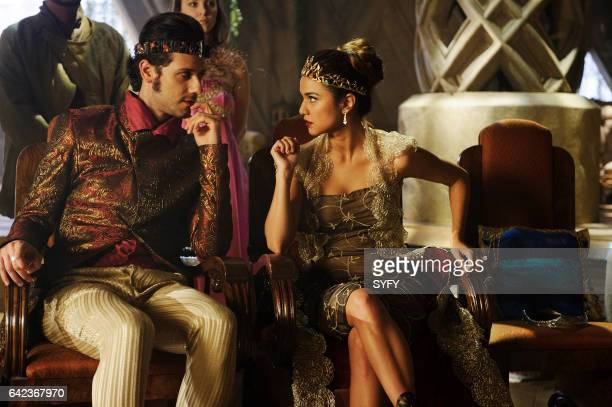 THE MAGICIANS 'The Cock Barrens' Episode 206 Pictured Hale Appleman as Eliot Summer Bishil as Margo