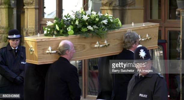 The coffin of Andrew Pennington at St Matthew's Church in Cheltenham Liberal Democrat aide Andrew Pennington died in a sword attack at an MP's...