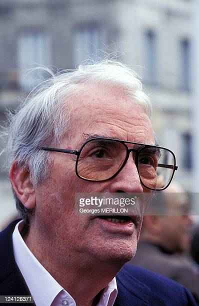 The Cognac International Thriller Film Festival In Cognac France In March 1996 Gregory Peck