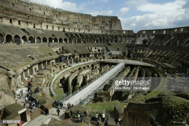 The Coliseum was built during the reign of Emperor Vespasiano in c72 AD and dedicated in 80 AD by his son Titus The popular name of Coliseum came...