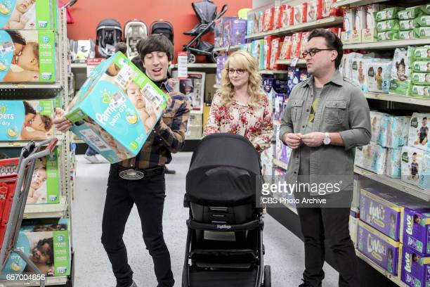 'The Collaboration Fluctuation' Pictured Howard Wolowitz Bernadette and Leonard Hofstadter Leonard Penny and Raj adjust to their new living...