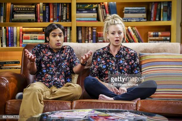 'The Collaboration Fluctuation' Pictured Rajesh Koothrappali and Penny Leonard Penny and Raj adjust to their new living arrangement and Sheldon takes...