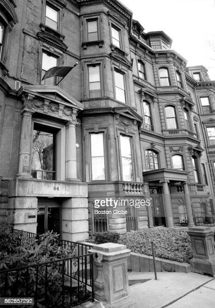The College Club of Boston at 44 Commonwealth Ave is pictured on Dec 18 1990