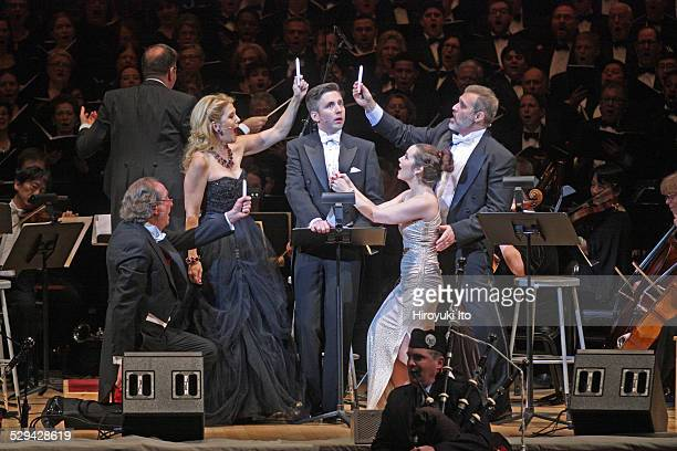 The Collegiate Chorale performing Eric Idle and John Du Prez's 'Not The Messiah ' at Carnegie Hall on Monday night December 15 2014It is inspired by...