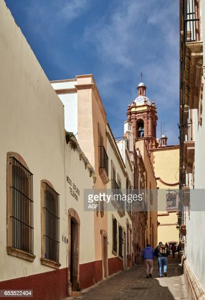 The Colonial Center And The Church Santo Domingo In Zacatecas City In Mexico Unesco World Heritage City