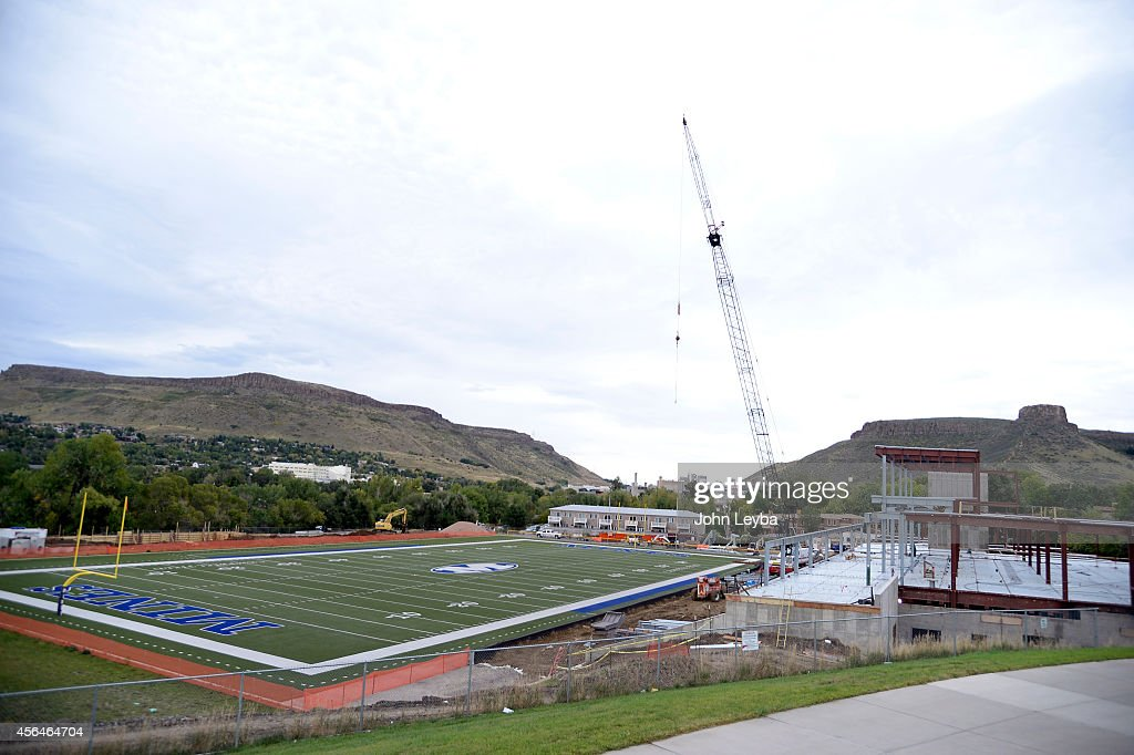 The Colorado School of Mines football team and its success even as it plays its games this season off campus with a new stateoftheart facility being...