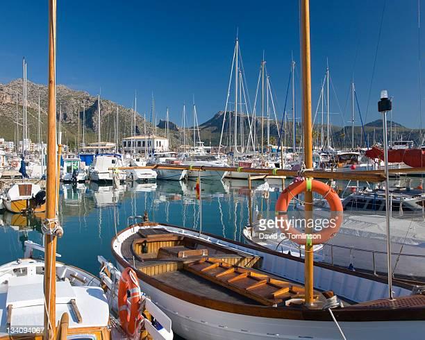The colourful harbour, Port de Pollenca, Mallorca