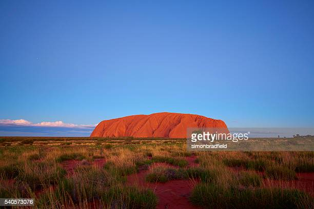 The Colours Of Uluru At Dusk