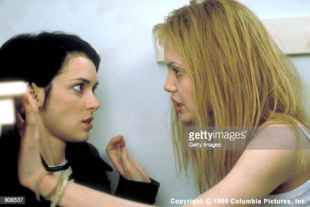 The Columbia Pictures presentation 'Girl Interrupted' starring Winona Ryder and Angelina Jolie questions the boundaries of freedom and confinement...