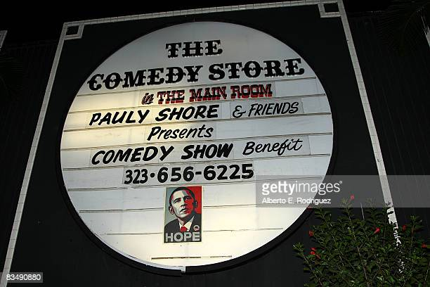 The Comedy Store at 'Loose Change' a fundraiser for Barack Obama and Joe Biden Held at the Comedy Store on the Sunset Strip on October 29 2008 in Los...