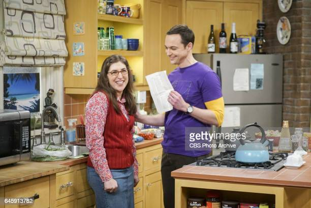 'The ComicCon Conundrum' Pictured Amy Farrah Fowler and Sheldon Cooper Leonard reluctantly agrees to let Penny join the gang for their annual trip to...
