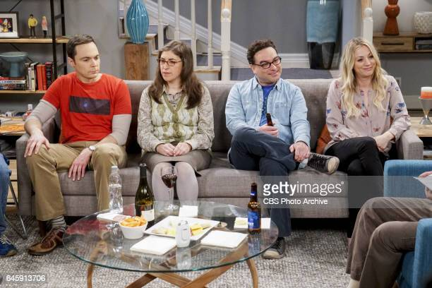 'The ComicCon Conundrum' Pictured Sheldon Cooper Amy Farrah Fowler Leonard Hofstadter and Penny Leonard reluctantly agrees to let Penny join the gang...