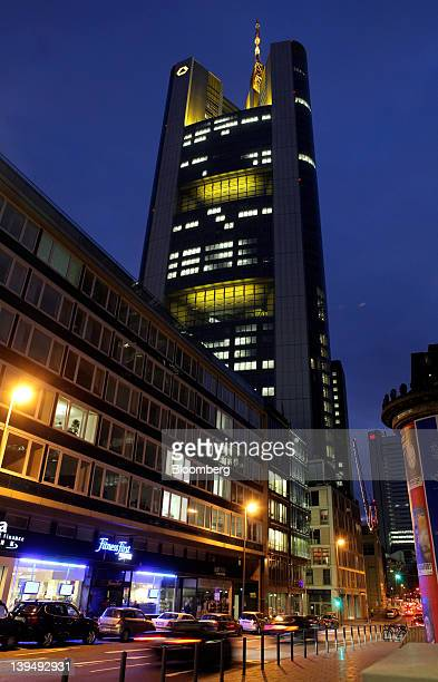 The Commerzbank AG headquarters are seen in Frankfurt Germany on Tuesday Feb 21 2012 Commerzbank AG didn't act dishonestly in going back on a promise...