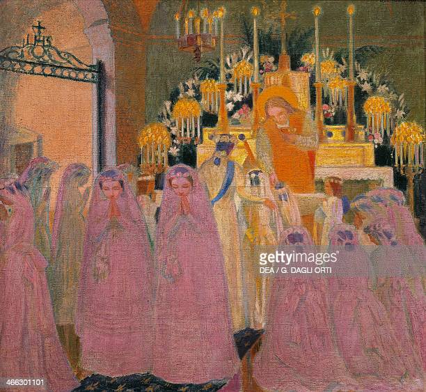 The communicants by Maurice Denis
