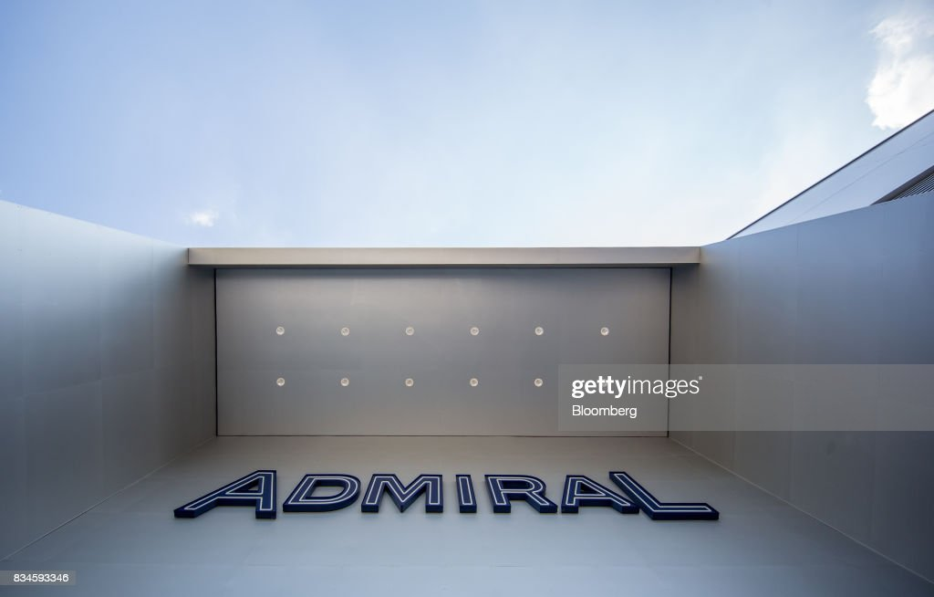 The company logo hangs above the entrance to an Admiral Casinos & Entertainment AG casino, operated by Novomatic AG, in Wiener Neudorf, Austria, on Thursday, Aug. 17, 2017. Novomatic is preparing for an initial public offering that could value the Austrian casino and gaming business at about 6 billion euros ($6.3 billion), according to people familiar with the matter. Photographer: Lisi Niesner/Bloomberg via Getty Images