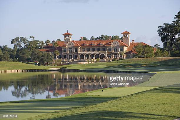 The completed clubhouse at the TPC Sawgrass in Ponte Vedra Beach FL Photo by Chris Condon/PGA TOUR