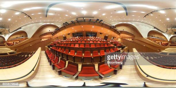 The concert hall is seen inside the Lotte Corp World Tower building in Seoul South Korea on Thursday March 16 2017 After almost seven years of...