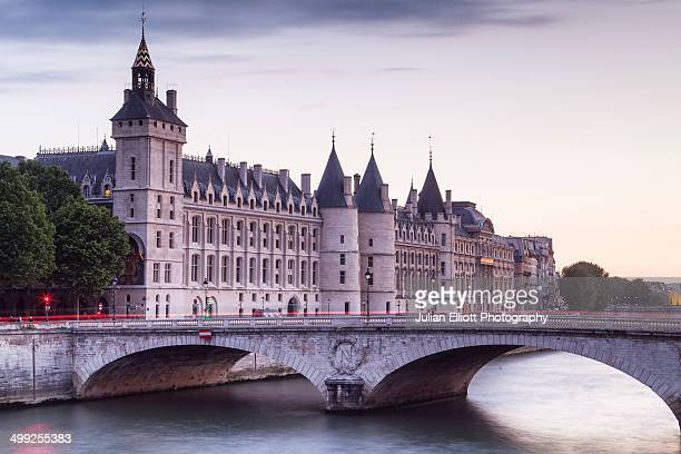 The Conciergerie on the Ile de la Cite, France.