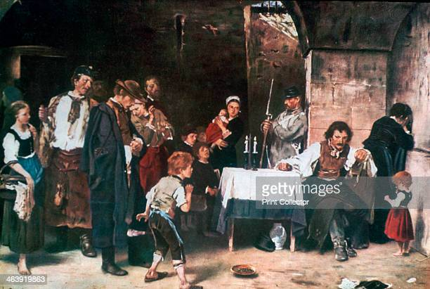 'The Condemned Cell' c18641900 Found in the collection of the Hungarian National Gallery Budapest