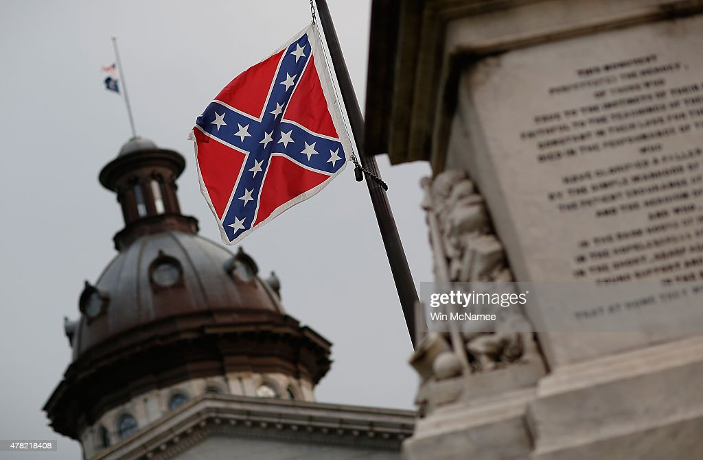 The Confederate flag flies on the Capitol grounds one day after South Carolina Gov Nikki Haley announced that she will call for the Confederate flag...