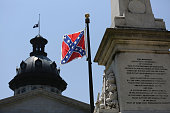The Confederate flag is seen flying on the Capitol grounds a day after South Carolina Gov Nikki Haley announced that she will call for the...