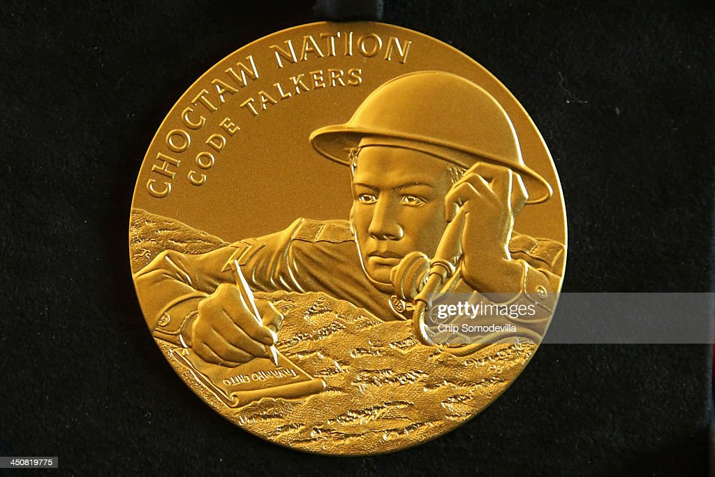 congressional gold medal given to native american code