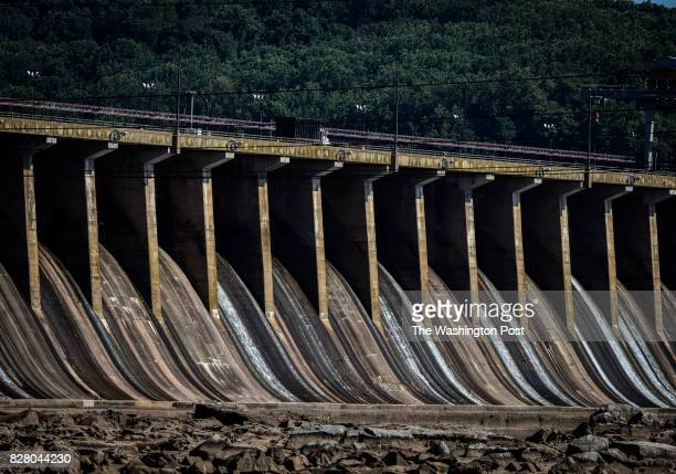 The Conowingo Dam on the Susquehanna has reached capacity with its' pollution trapping capabilities on July 2017 in Darlington MD
