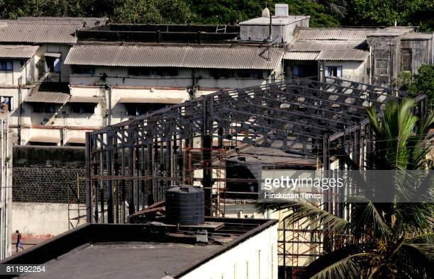 The construction of a 20ftlong tunnel in Arthur Road jail has begun The bomb and bulletproof tunnel will connect 26/11 accused terrorist Mohammed...