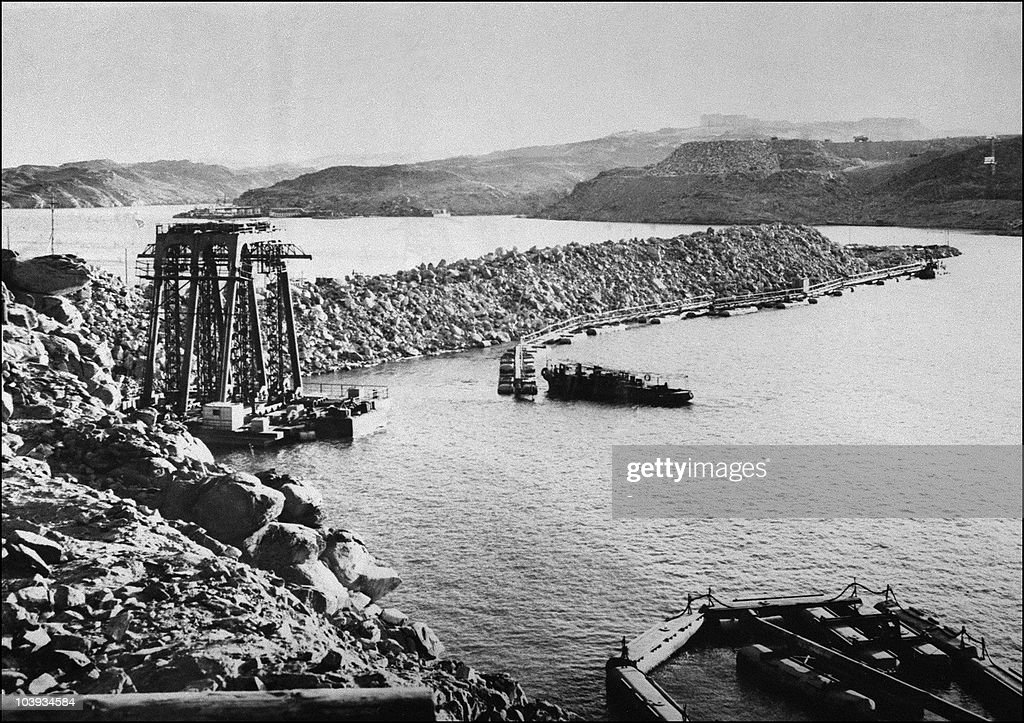 The construction of the Aswan dam built from 1959 to 1964 The construction of the Aswan High Dam was initiated by Gamal Abdel Nasser and designed to...