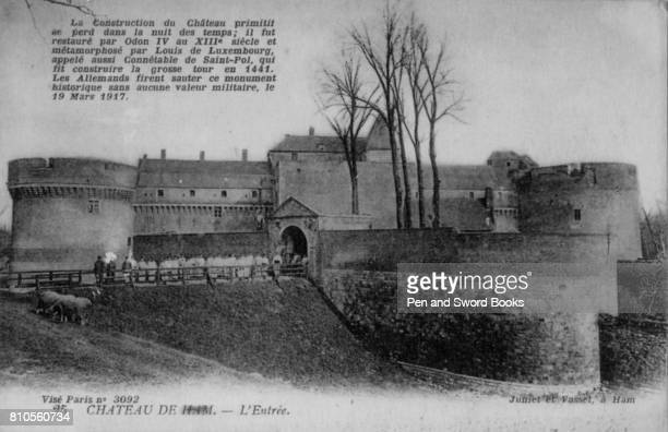 The construction of the Castle Ham is lost in the mists of tiem It was restored by Lois of Luxembourg also called Constable of SaintPol which Germany...
