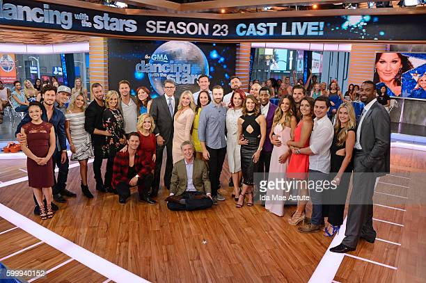 AMERICA The contestants of 'Dancing with the Stars' appear on 'Good Morning America' 9/7/16 airing on the ABC Television Network LAURIE