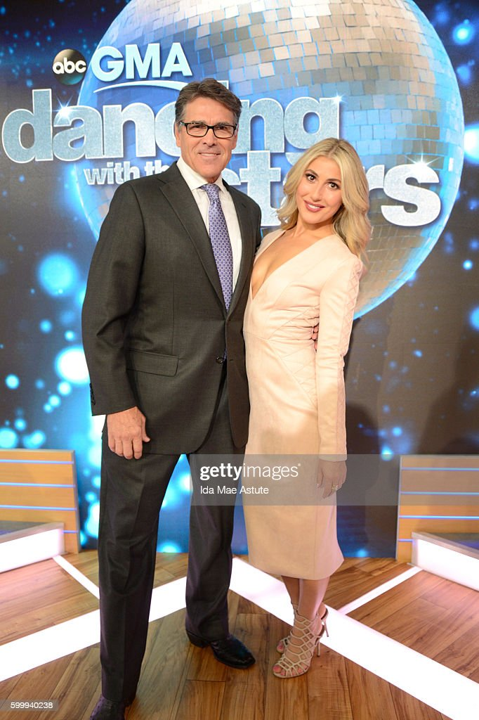 AMERICA - The contestants of 'Dancing with the Stars' appear on 'Good Morning America,' 9/7/16, airing on the ABC Television Network. GOVERNOR