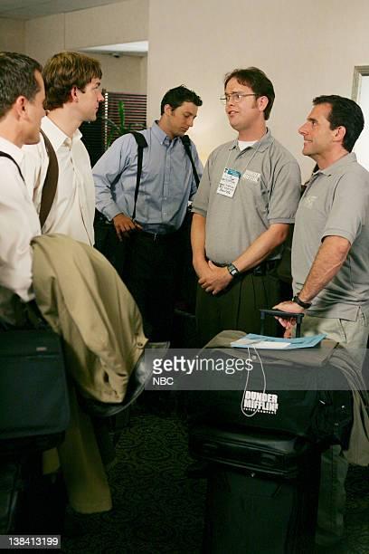 THE OFFICE 'The Convention' Episode 2 Aired Pictured Charles Esten as Josh Porter John Krasinski as Jim Halpert Rainn Wilson as Dwight Schrute and...