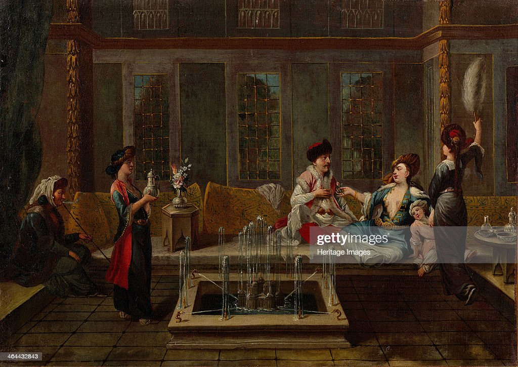 The Conversation 1730s Found in the collection of the Pera Museum Istanbul