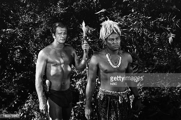 TARZAN 'The Convert' Episode 15 Air Date Pictured Ron Ely as Tarzan Leonard O Smith as Batu Photo by NBCU Photo Bank