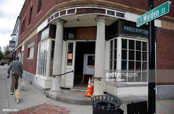 The corner of Walden and Main Streets in Concord MA is pictured on Sep 21 2017 Change is afoot in historic Concord Center where the Main Street area...