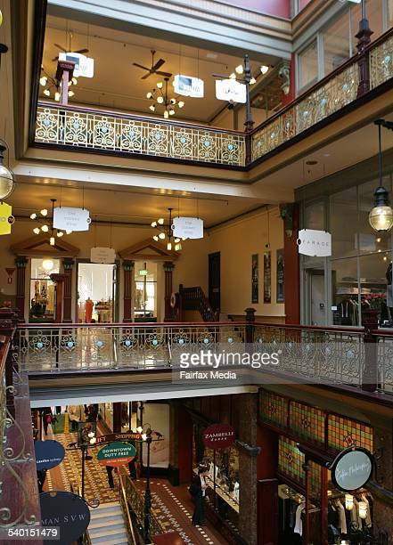 The Corner Shop in The Strand Arcade in Sydney on 5 September 2006 THE SYDNEY MAGAZINE Picture by SAHLAN HAYES
