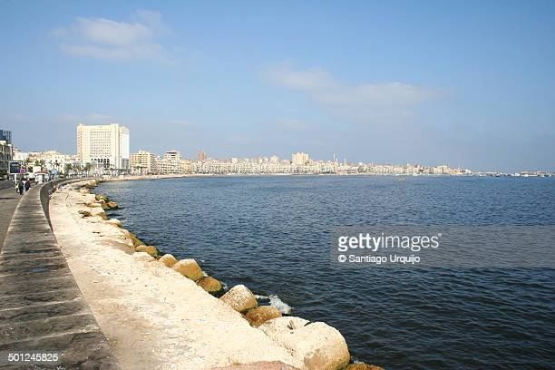 The corniche of Alexandria