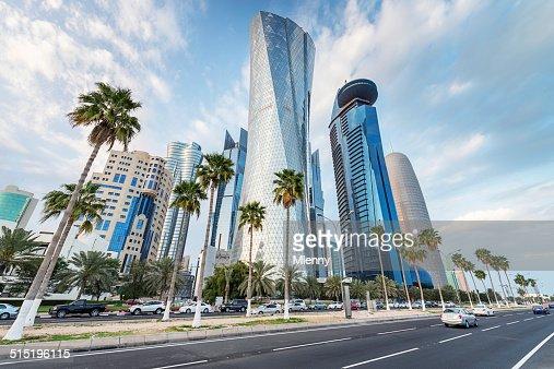The Corniche of Doha, Qatar