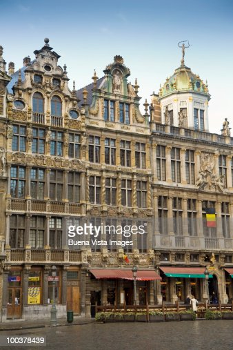 The Corporations Houses, Bruxelles. : Stock Photo