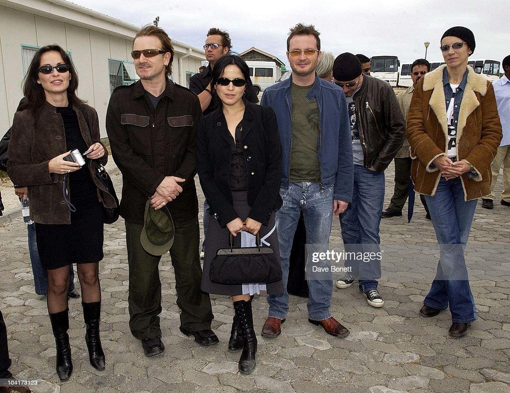 The Corrs, Bono And Annie Lennox, The Stars Of Rock And Roll Join Forces For Nelson Mandela's 46664 Concert In Cape Town, South Africa. In The Pre, Concert Build Up The Artists And Mr Mandela Travelled To The Prison On Robben Island, Where Mr Mandela Was Imprisoned For 27 Years And Was Known Simple As Prisoner 46664, South Africa Gears Up For Aids Awareness Mandela Concert 46664. The Concert Is In Association With Mtv's Staying Alive & Www.46664.com Powered By Tiscali.
